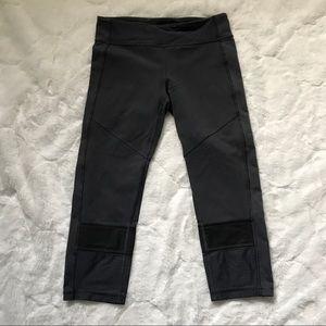 Ivivva Gray Cropped Mesh Leggings 12